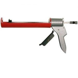 Kitspuit hydraulisch grijs/rood MK H40